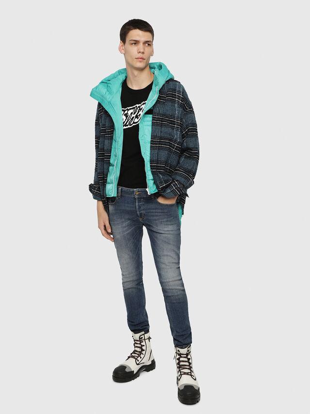 Diesel - Sleenker 082AB, Medium blue - Jeans - Image 3