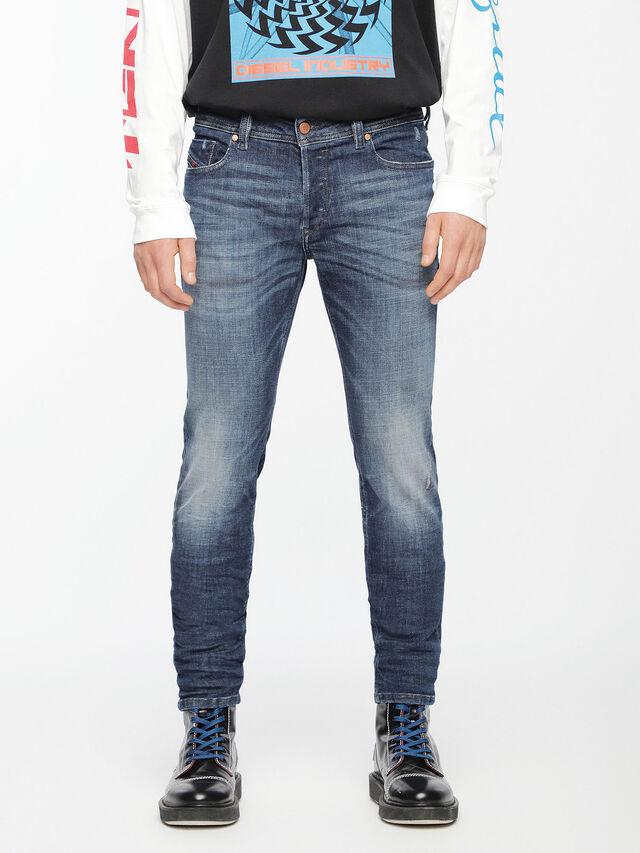 Diesel - Sleenker 084UI, Medium blue - Jeans - Image 1