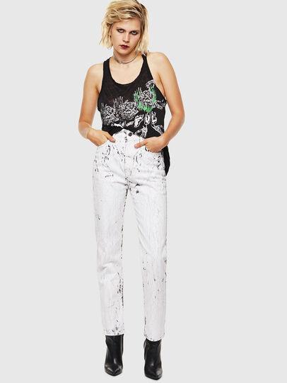Diesel - D-Eiselle 069JJ, White - Jeans - Image 6