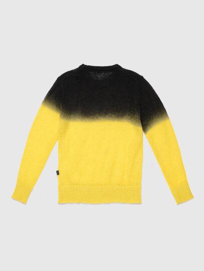 Diesel - KTREAT, Yellow - Knitwear - Image 2