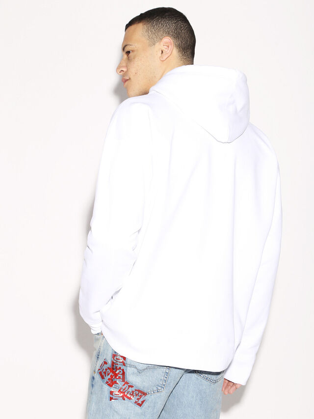Diesel - DEIS-SHOOD, White - Sweaters - Image 5