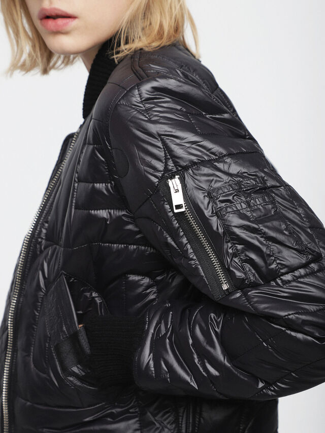 Diesel - W-REINA, Black - Winter Jackets - Image 3