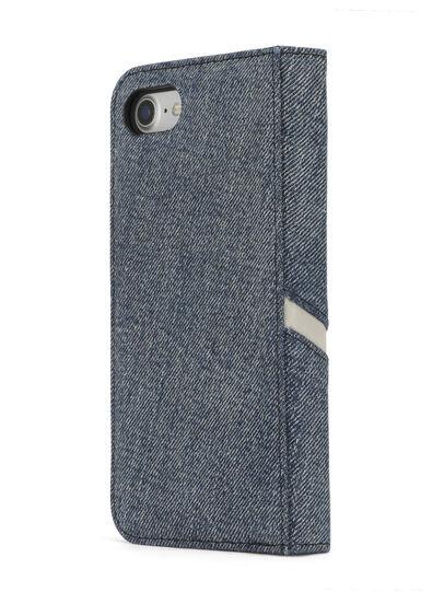 Diesel - DENIM IPHONE 8 PLUS/7 PLUS FOLIO, Blue Jeans - Flip covers - Image 6