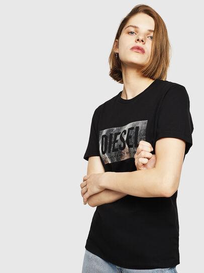 Diesel - T-FOIL, Black - T-Shirts - Image 1