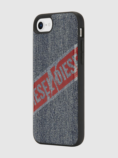 Diesel - VINTAGE DENIM IPHONE 8/7/6S/6 CASE, Blue Jeans - Cases - Image 5