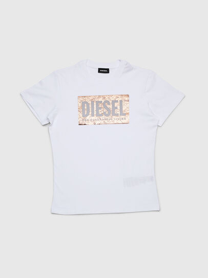 Diesel - TFOIL, White - T-shirts and Tops - Image 1