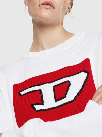 Diesel - M-LINDA, White - Knitwear - Image 3