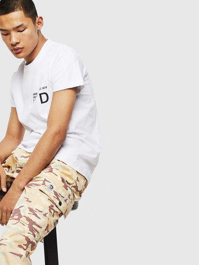 Diesel - T-HOVER, White - T-Shirts - Image 4