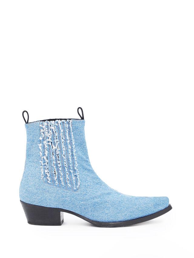 Diesel - SOCHELSEABOOT, Blue Jeans - Boots - Image 4