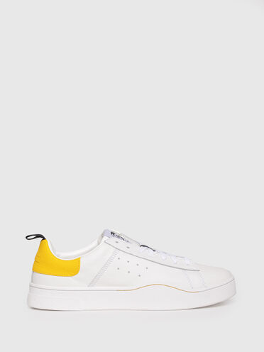 Sneakers in leather with mohawk logo