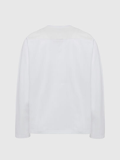 Diesel - T-TASK-LS, White - T-Shirts - Image 2