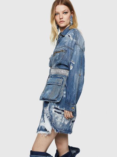 Diesel - DE-EPPIE, Light Blue - Dresses - Image 7