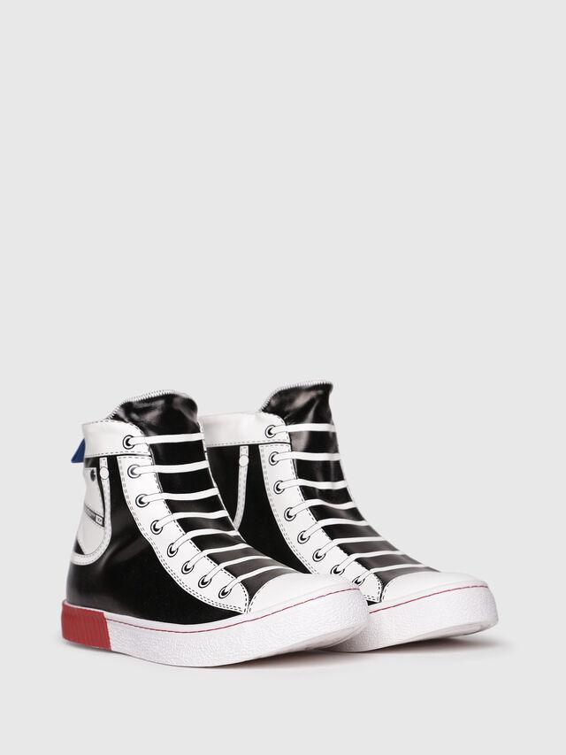 Diesel - S-DIESEL IMAGINEE MID, Black/White - Sneakers - Image 2