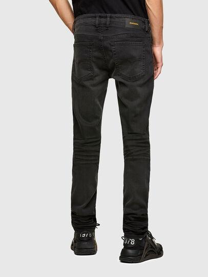 Diesel - Sleenker C69EQ, Black/Dark grey - Jeans - Image 2