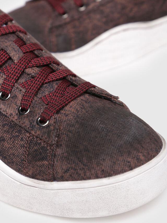 Diesel - S-CLEVER LOW, Bordeaux - Sneakers - Image 4