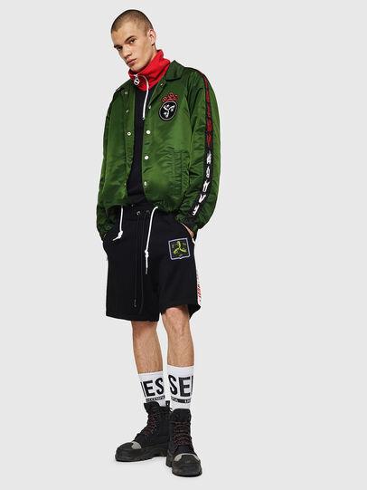 Diesel - K-ROB, Black - Shorts - Image 5