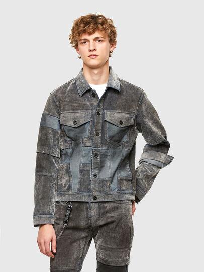 Diesel - JHILL, Grey - Jackets - Image 1