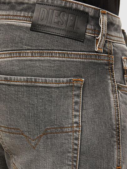 Diesel - Sleenker 009FW, Light Grey - Jeans - Image 4