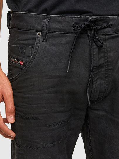Diesel - Krooley JoggJeans 069QL, Black/Dark grey - Jeans - Image 3