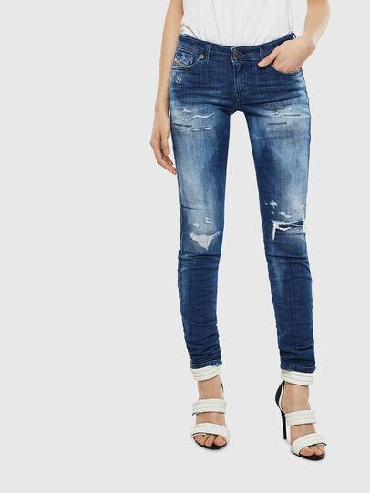 Diesel - Gracey JoggJeans 0099S, Dark Blue - Jeans - Image 1