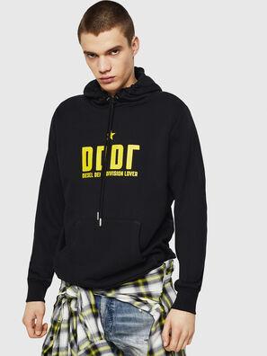S-GIR-HOOD-A1, Black - Sweaters