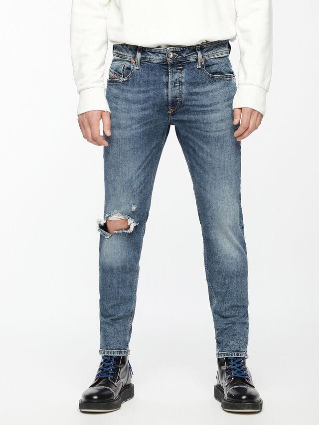 Diesel - Sleenker 069AI, Medium blue - Jeans - Image 1