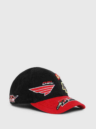 Diesel - ASTARS-CAP, Black/Red - Caps - Image 1