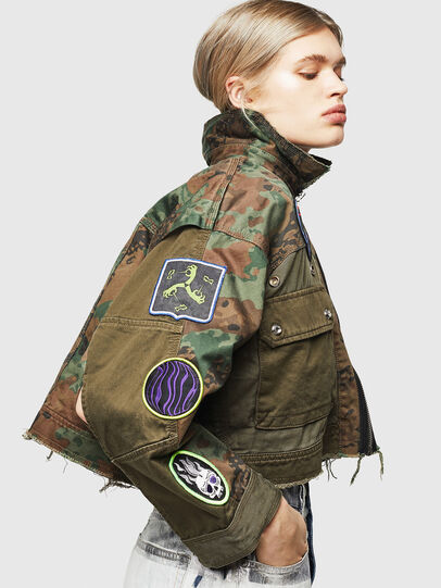 Diesel - G-ANAPAY, Military Green - Jackets - Image 4
