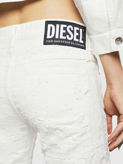 Diesel - D-Rifty 069GY, White - Jeans - Image 6