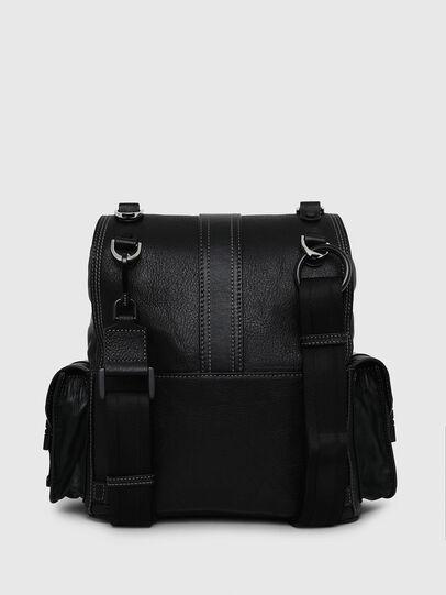 Diesel - MISS-MATCH BACKPACK, Opaque Black - Backpacks - Image 2