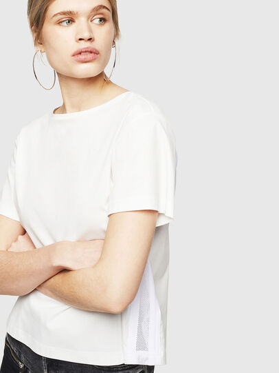Diesel - T-RYLY, White - T-Shirts - Image 4
