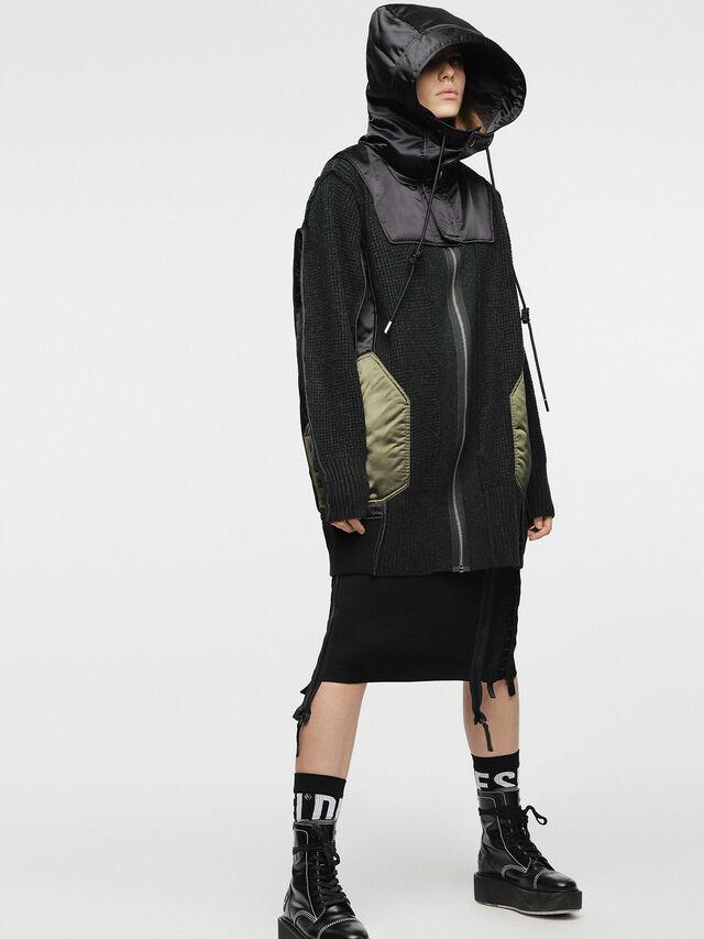 Diesel - M-LIF-FL, Black - Winter Jackets - Image 6
