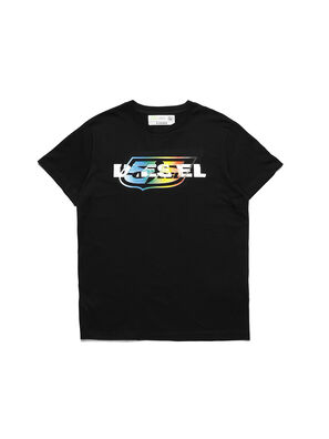 D-55LOGO, Black - T-Shirts