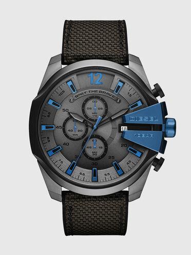 Mega Chief chronograph black and gray watch
