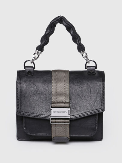 Diesel - MISS-MATCH CROSSBODY, Anthracite - Crossbody Bags - Image 1