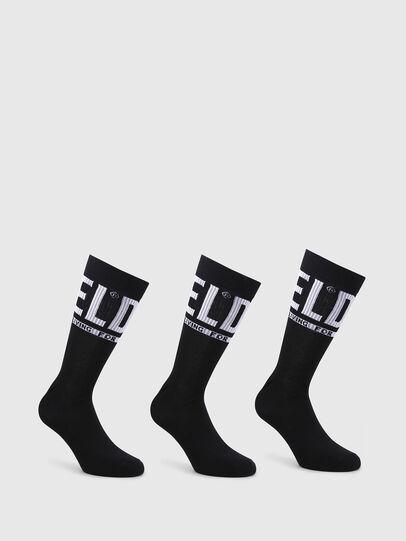 Diesel - SKM-RAY-THREEPACK, Black - Socks - Image 1