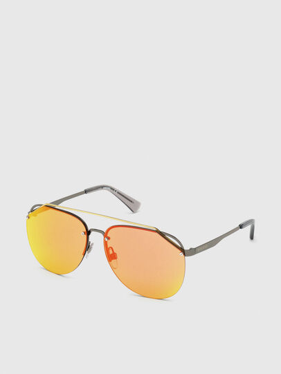 Diesel - DL0314, Grey - Sunglasses - Image 2