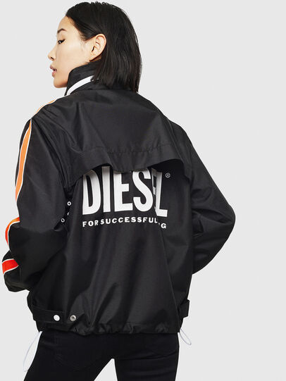 Diesel - J-BROCK, Black - Jackets - Image 4