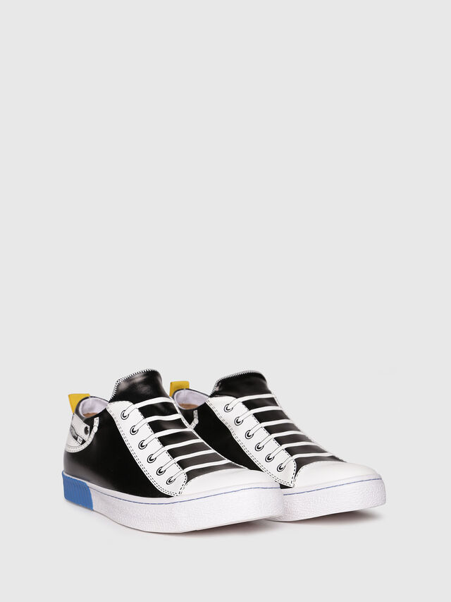 Diesel - S-DIESEL IMAGINEE LOW, Black/White - Sneakers - Image 2