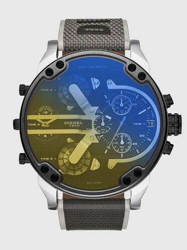 Mr Daddy 2.0 two-hand black nylon watch