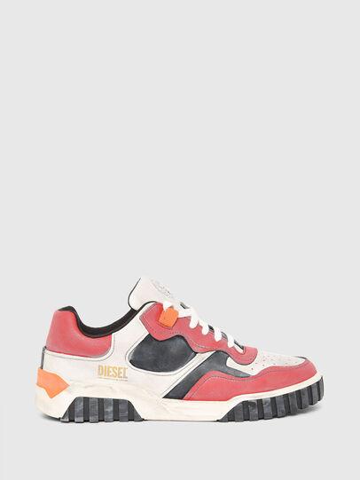 Diesel - S-RUA LOW SK, White/Red - Sneakers - Image 1