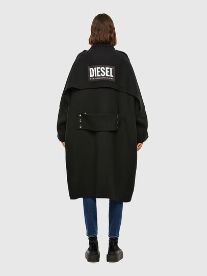 Diesel - W-TILLER, Black - Winter Jackets - Image 2
