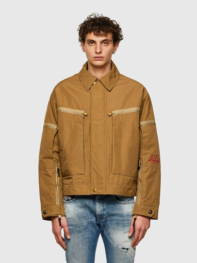 Diesel - J-THOMPSON, Light Brown - Jackets - Image 1