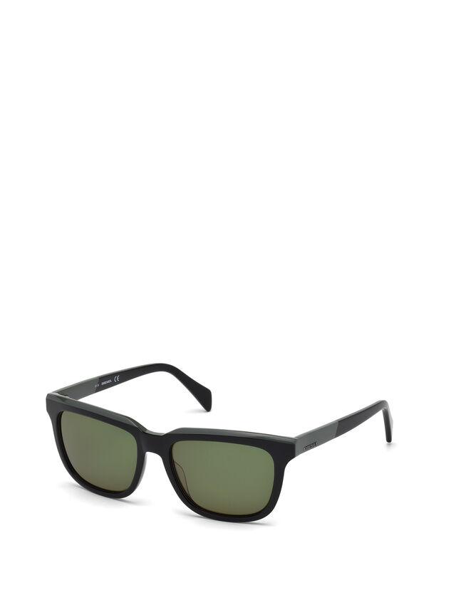 Diesel - DL0224, Green - Sunglasses - Image 4