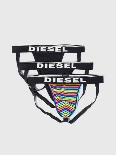 Diesel - UMBR-JOCKYTHREEPACK, Multicolor/Black - Jockstraps - Image 1
