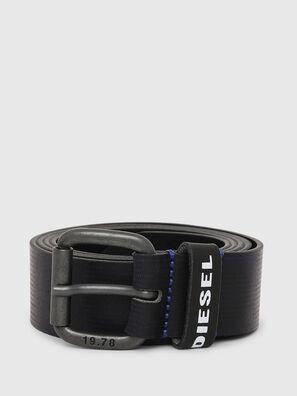 B-CAVA, Black/Blue - Belts