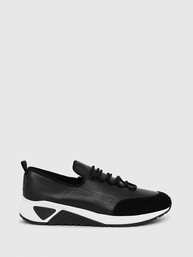 Diesel S-KBY, Black Leather - Sneakers - Image 1