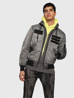 ead5661a233 Mens Jackets: denim, leather | Go with mistakes · Diesel