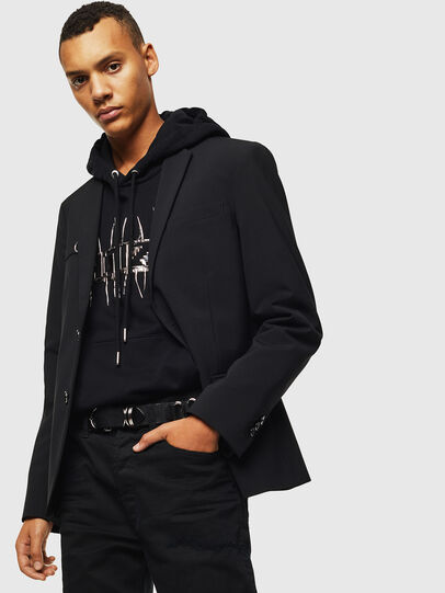 Diesel - J-HOOK, Black - Jackets - Image 4