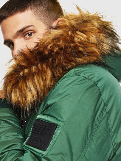 Diesel - W-BULLISK, Dark Green - Winter Jackets - Image 3